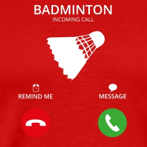 Call Mobile Call badminton - Men's Premium T-Shirt