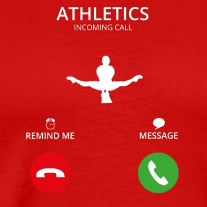 Call Mobile Call athletics turnen ath - Men's Premium T-Shirt