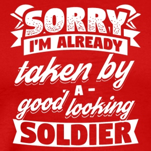 Soldier Already Taken Shirt - Men's Premium T-Shirt