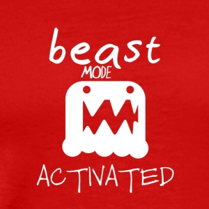 Monster mode activated - beast mode activated - Men's Premium T-Shirt