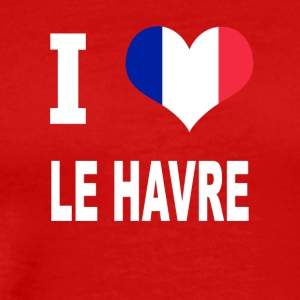 I Love LE HAVRE - Men's Premium T-Shirt