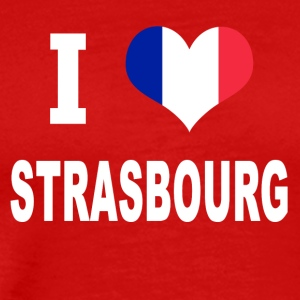 I Love STRASBOURG - Men's Premium T-Shirt
