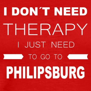 i dont need therapy i just need to go to PHILIPS - Men's Premium T-Shirt