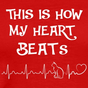 This is my heart beats III - Men's Premium T-Shirt