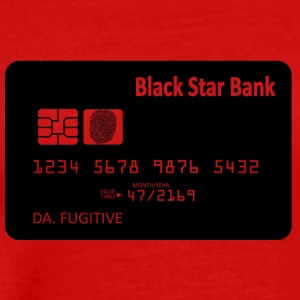 Spacecard Blak - Premium T-skjorte for menn