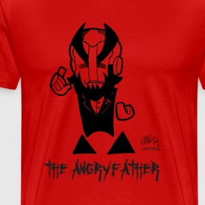 THE ANGRYFATHER - Herre premium T-shirt