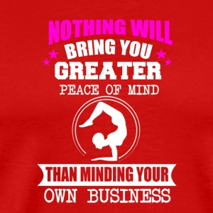 Minding your own business - Men's Premium T-Shirt