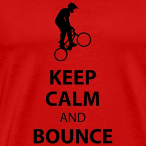 Keep Calm and Bounce - T-shirt Premium Homme
