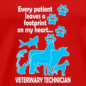 Veterinary Technician - Männer Premium T-Shirt
