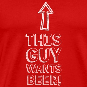Beer party drink celebrate Christmas gift - Men's Premium T-Shirt
