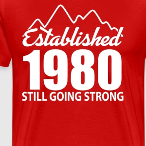 Established 1980 and still going strong - Men's Premium T-Shirt