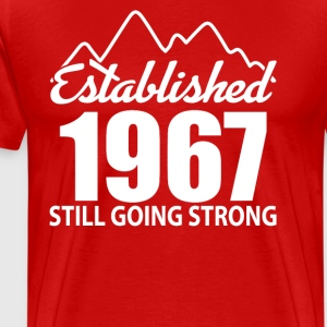 Established 1967 and still going strong - Men's Premium T-Shirt