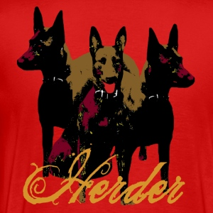 Herder Malinois, Companion, X-Herder, Police Officer - Men's Premium T-Shirt