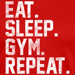 Eat Sleep Gym Repeat Gym Bodybuilding