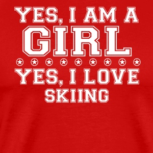 gift on girl a girl love gift bday SKIING