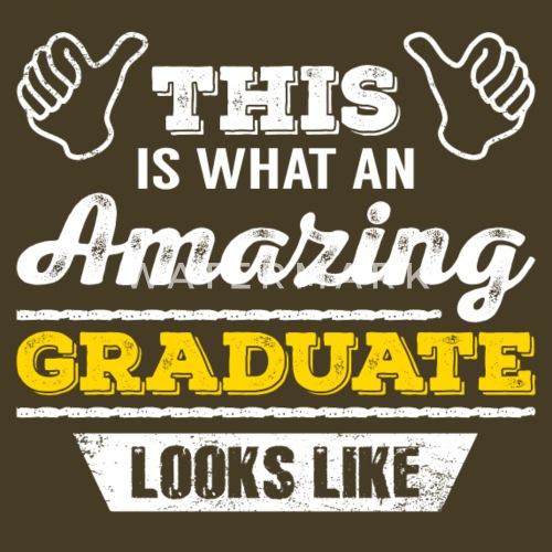 Graduate T Shirt Geschenk Idee Geburtstag Lustig Manner Premium T
