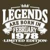 Legends are born in february 1978 - Men's Premium T-Shirt