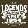 Legends are born in april 1954 - Men's Premium T-Shirt