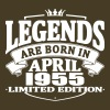 Legends are born in april 1955 - Men's Premium T-Shirt