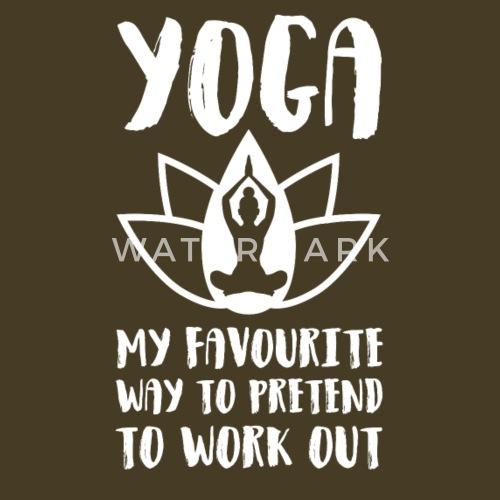 Yoga Lustig Witzig Geschenk Zen Geburtstag Funny Manner Premium T