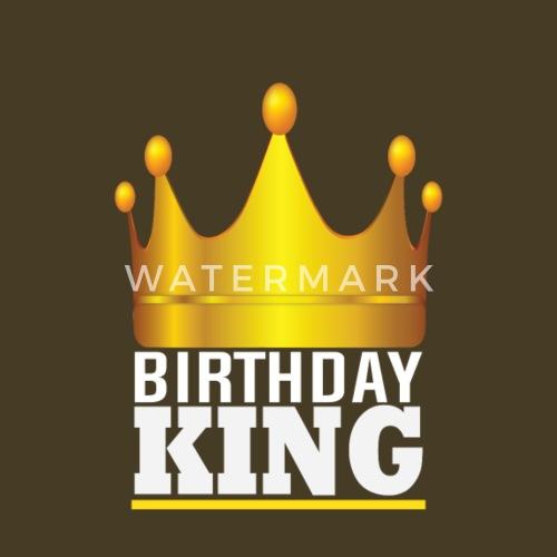 corona de cumpleaños del oro de rey rey niño por big cinema shirts