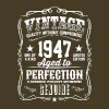 Vintage 1947 Aged to Perfection - Men's Premium T-Shirt
