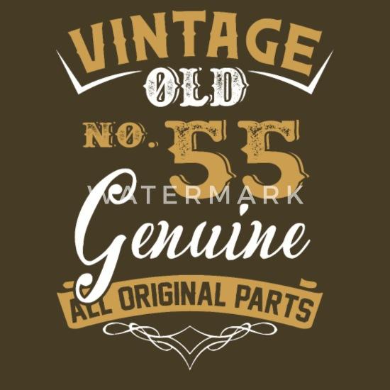 Wonderbaarlijk Vintage 55 jaar oud, allemaal origineel onderdeel Mannen premium T ZC-11