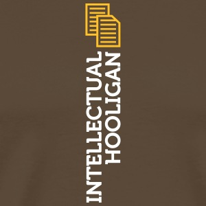 Intellectual Hooligan - Premium-T-shirt herr