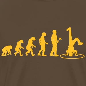 Theory of Evolution Breakdance - Premium T-skjorte for menn