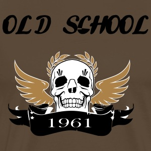Old school1961 - Men's Premium T-Shirt