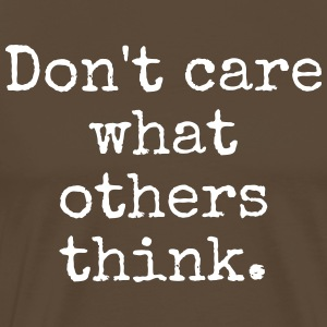 Do not care - Männer Premium T-Shirt
