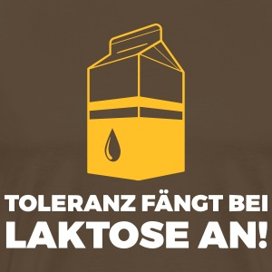 Tolerance Begins With Lactose! - Men's Premium T-Shirt