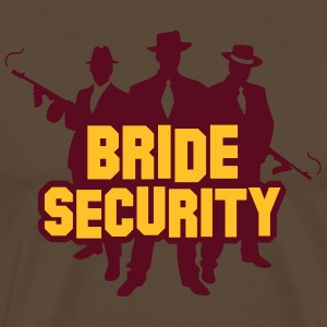 Security Team Of The Bride. - Men's Premium T-Shirt