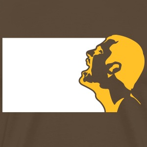 A Screaming Man - Men's Premium T-Shirt
