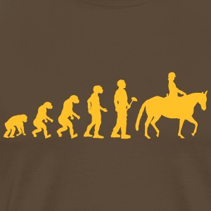Evolution theory riding - Men's Premium T-Shirt