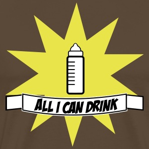 All I can Drink bottle bottle bottle 2 - Men's Premium T-Shirt