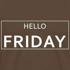 HELLO FRIDAY - Männer Premium T-Shirt