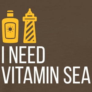 I Need Vitamin Sea! - Men's Premium T-Shirt
