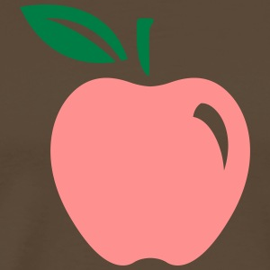 A Red Apple - Men's Premium T-Shirt