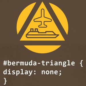 The Bermuda Triangle - Men's Premium T-Shirt