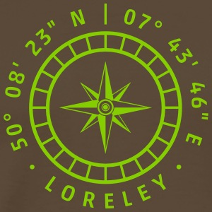 Kompas - Loreley - Herre premium T-shirt