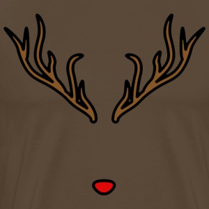 Rudolph the Red-Nosed - Mannen Premium T-shirt