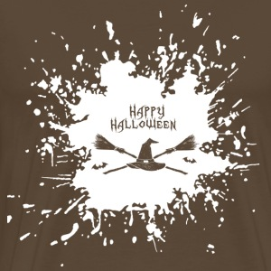 Happy Halloween Splash - Premium-T-shirt herr