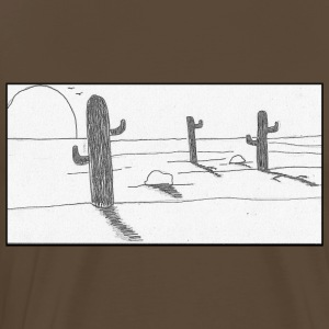 Mexican desert - Men's Premium T-Shirt