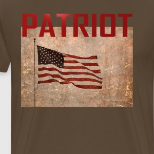 Patriot USA T-shirt - Mannen Premium T-shirt