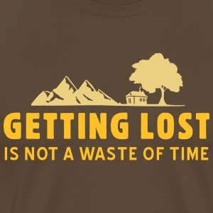 SHIRT GETTING LOST - Männer Premium T-Shirt