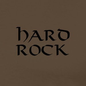 hard rock - Premium T-skjorte for menn