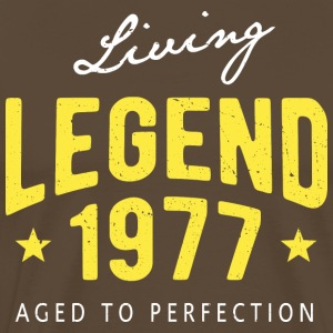 Living Legend 1977 - Männer Premium T-Shirt