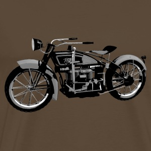 Ace 1924 classic motor bike - Men's Premium T-Shirt