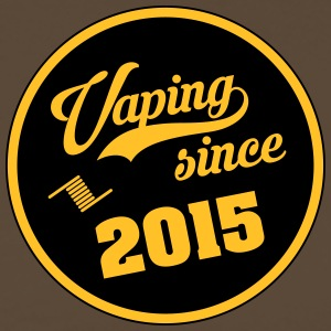 Vaping sedan 2015 - Premium-T-shirt herr